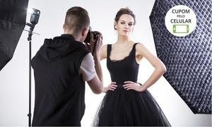 Oliveira Studio Fotografia: Oliveira Studio – Jd. Tropical: ensaio para até 4 pessoas com fotos em CD (opção com maquiagem, impressas e pôster)