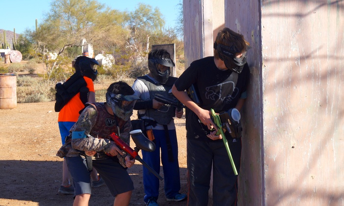 Westworld Paintball Adventures - Multiple Locations: Paintball Package for Two or Four at Westworld Paintball's Outdoor Locations (Up to 50% Off)