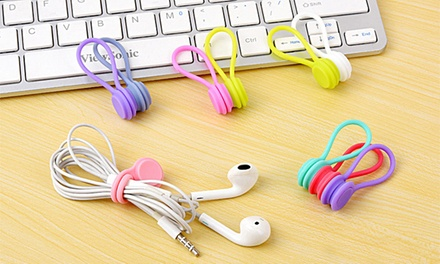 Three or Six Multifunctional Magnetic Cable Organisers