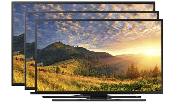 "Samsung JU650D Series 55"", 60"", or 65"" 120 Clear Motion Rate 4K UHD Smart TV (Refurbished)"