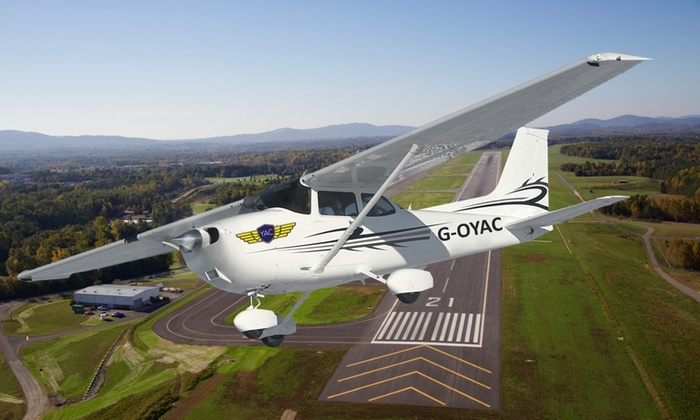 Yorkshire Aero Club - Doncaster: Flying Experience Package at Yorkshire Aero Club (50% Off)