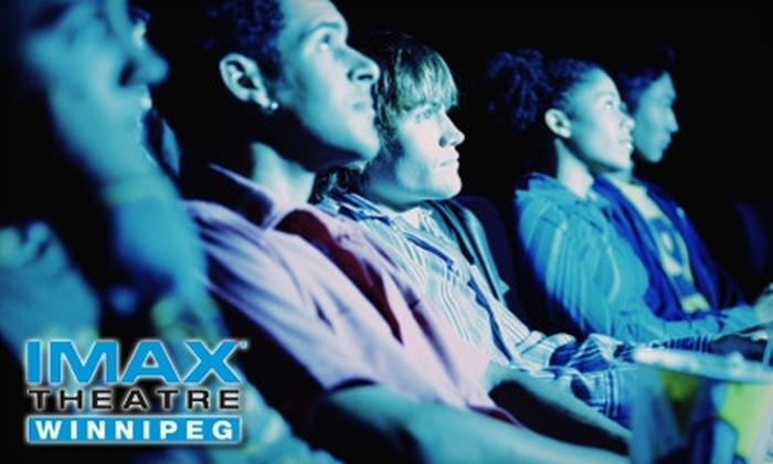 IMAX Theatre Winnipeg - Downtown Winnipeg: $20 for Two IMAX Passes, Two Drinks, and a Popcorn at IMAX Theatre Winnipeg (Up to $42 Value)