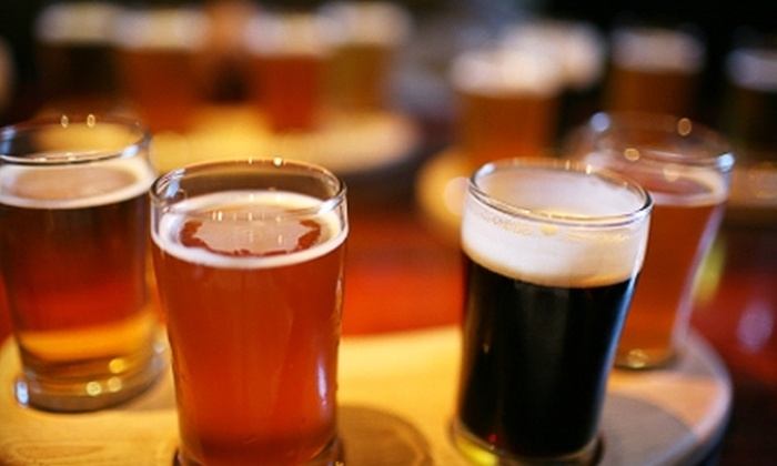 Boulder Dam Brewing Company - Boulder City: $9 for a Six-Sample Beer Flight and Two Pints at Boulder Dam Brewing Company in Boulder City ($19 Value)