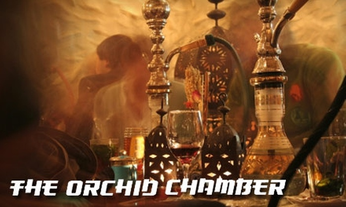 The Orchid Chamber - West Bluff: $12 for $25 Worth of Hookah Use and Video Gaming at the Orchid Chamber