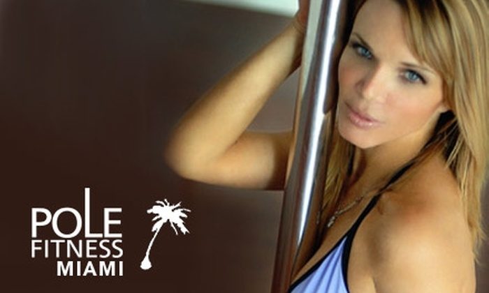 Pole Fitness Miami - City Center: $29 for Five Pole Dancing Classes at Pole Fitness Miami