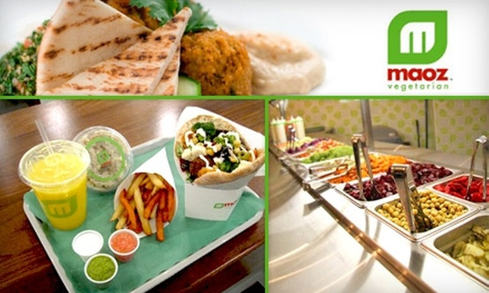 Maoz - Dupont Circle: $5 for $10 Worth of Vegetarian Cuisine at Maoz Vegetarian
