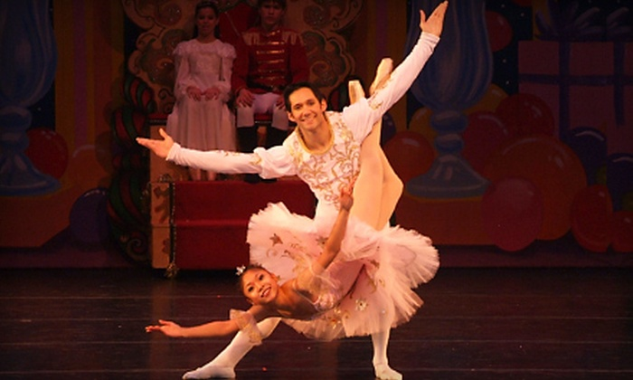 """Arts Ballet Theatre of Florida - Downtown Miami: Ballet Outing to Arts Ballet Theatre of Florida's """"The Nutcracker"""" on December 3 at 7:30 p.m. (Up to 54% Off). Two Options Available."""