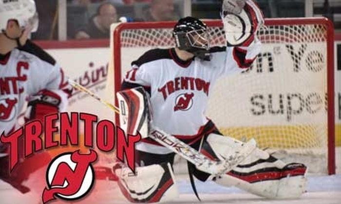 Trenton Devils - Chambersburg: $13 for Center Club Ticket to See Trenton Devils Hockey ($26.50 Value)