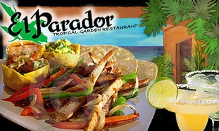 El Parador - Broadmoor-Broadway: $12 for $25 Worth of Mexican and Latin American Fare & Drinks at El Parador