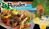 El Parador - Broadmoor-Broadway: $12 for $25 Worth of Mexican and Latin American Fare & Drinks at El Parador