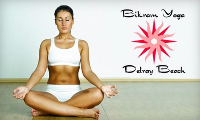 Bikram Yoga Delray Beach - Boynton Beach: $39 for One Month of Unlimited Yoga at Bikram Yoga Delray Beach ($160 Value)