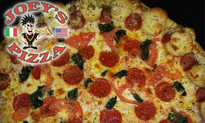 Joey's Pizza - Briargate: $10 for $20 Worth of New York–Style Pizza and More at Joey's Pizza
