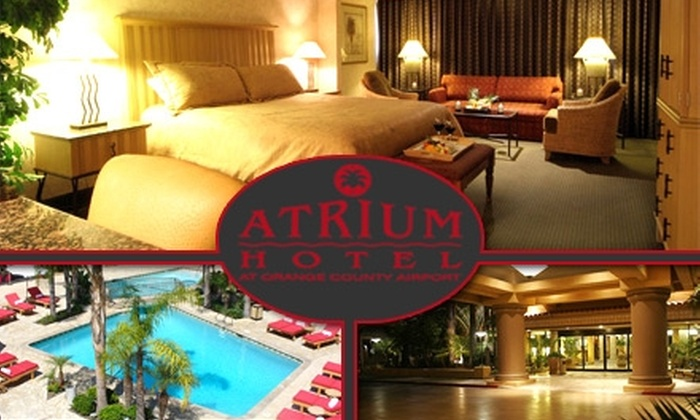 The Atrium Hotel - Irvine Business Complex: $65 for a Standard Room, Breakfast for Two, and Parking at The Atrium Hotel (Up to $155 Value)