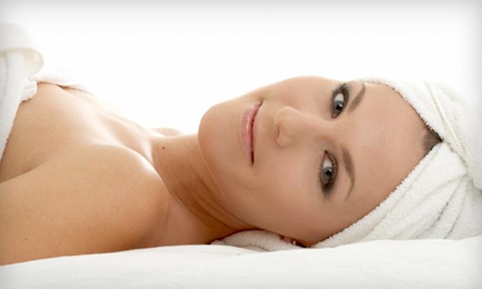 O'Haira Salon - Pettigru Street Area: $99 for a Spa Package with an Enzyme-Scrub Facial, Mani-Pedi, and Hot-Stone Leg Massage at O'Haira Salon ($200 Value)