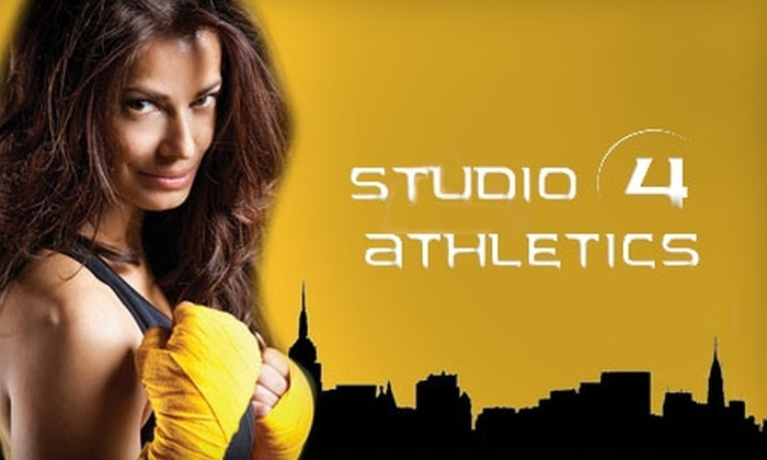 Studio 4 Athletics - Downtown: $25 For Six Group Fitness Classes at Studio 4 Athletics ($90 Value)
