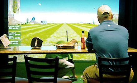 2 Hours of Simulated Golf (a $70 value) - Beyond the Green Indoor Golf & Sportsbar in Moneta