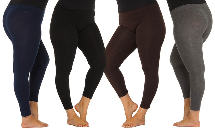 Cotton Leggings Plus Size
