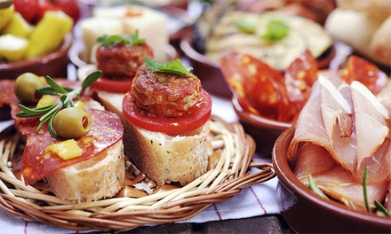 $12 for $20 Worth of Tapas and Drinks at Rhapsody Global Tapas Bar