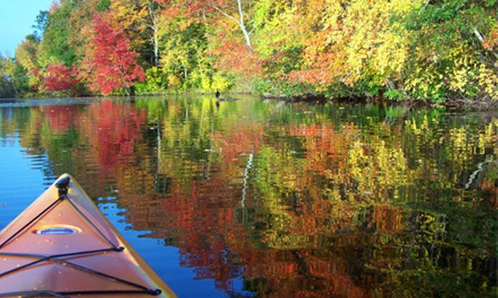 Norton Kayak Company - Norton: Daytime and Twilight Kayaking Tours for Two or Four from Norton Kayak Company. Three Options Available.