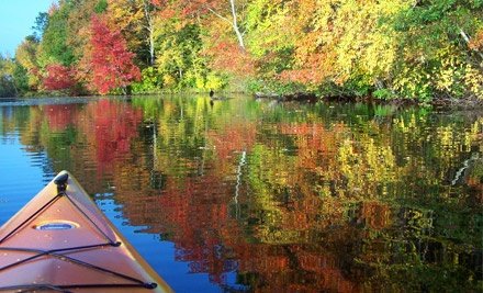 Fall-Foliage Kayaking Tour for 2 People (up to a $110 value) - Norton Kayak Company in Norton