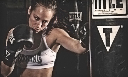 Two Weeks of Unlimited Boxing and Kickboxing Classes with Wraps and Optional Gloves at TITLE Boxing Club (Up to 84% Off)