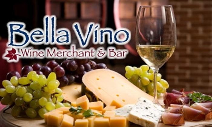 Bella Vino Wine Merchant & Bar - Springboro: $8 for a Wine Tasting and Cheese Plate at Bella Vino Wine Merchant & Bar ($17 Value)