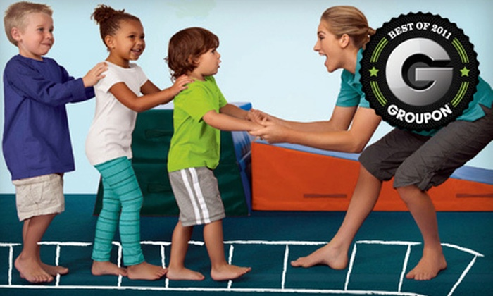 The Little Gym - North Fresno: Three Children's Classes or Three One-Day Camp Sessions at The Little Gym (Up to 51% Off)