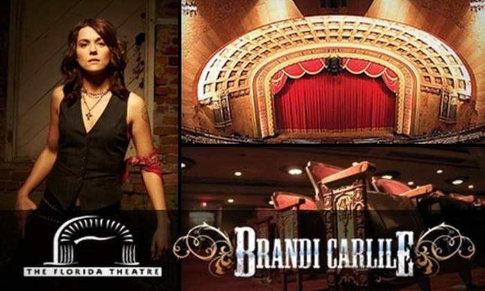 Florida Theatre - Downtown Jacksonville: $12 Admission to Brandi Carlile on June 8 at Florida Theatre
