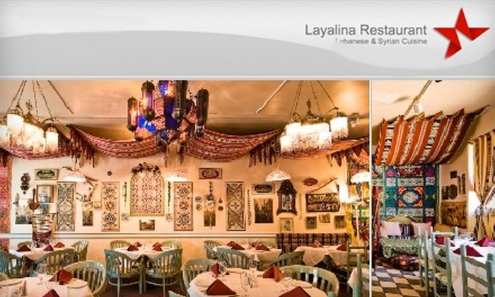 Layalina Restaurant - Bluemont: $20 for $40 Worth of Middle Eastern Fare at Layalina Restaurant