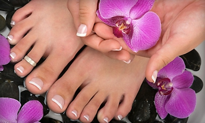Renaissance Spa & Laser Clinic - Woodbridge: $39 for a Mani-Pedi with Vitamin E Paraffin Treatment at Renaissance Spa & Laser Clinic in Woodbridge ($87 Value)