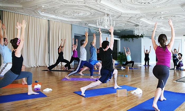 Stroga - Adams Morgan: $39 for 10 Yoga and Fitness Classes at Stroga ($150 Value)