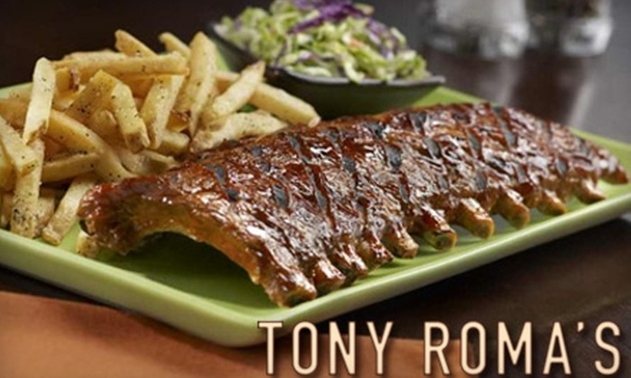 Tony Roma's - Aiea: $12 for $25 Worth of Ribs, Seafood, and Steak at Tony Roma's