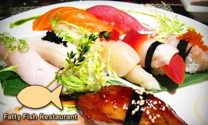 Fatty Fish Restaurant - Upper East Side: $15 for $30 Towards Asian Fusion Dinner Fare at Fatty Fish Restaurant (or $10 for $20 Towards Lunch or Brunch)