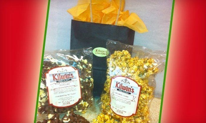Kilwin's Jacksonville - Windy Hill: $8 for Caramel Corn and Chocolate-Covered Popcorn from Kilwin's ($18.50 Value)