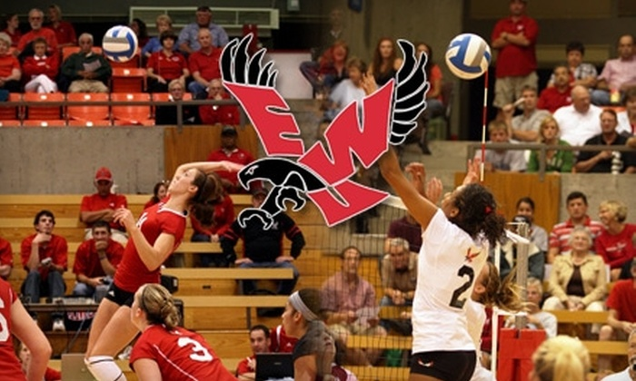 Eastern Washington University - Cheney: $8 for a Family Pack of Tickets to Eastern Washington University Volleyball Game Against Sacramento State on November 20 ($19 Value).