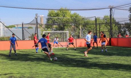 1 o 2 alquileres de pista de fútbol (5 contra 5) de 60 o 90 minutos desde 24,95 € en Campocinco