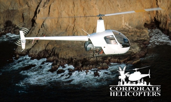 Corporate Helicopters - Kearny Mesa: $272 to be a Helicopter Pilot for a Day at Corporate Helicopters ($545 Value)