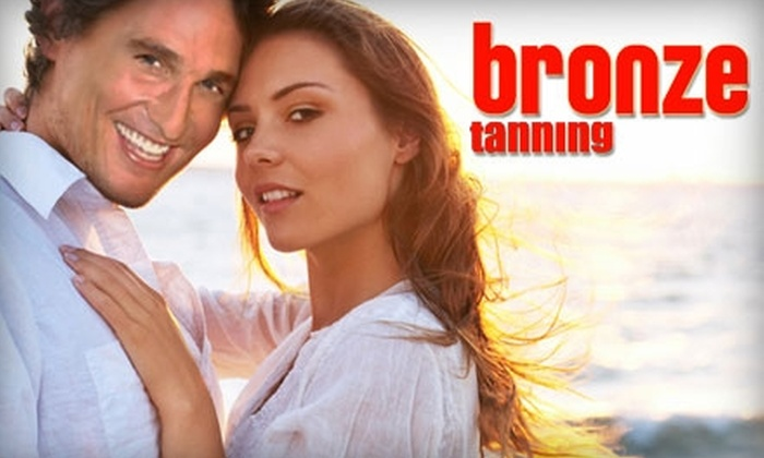 Bronze Tanning - Multiple Locations: $10 for One Airbrush Tan or $15 for $30 Worth of Regular Tanning Services at Bronze Tanning