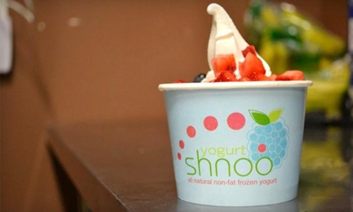 Shnoo Yogurt - Renton: $5 for $10 Worth of Frozen Yogurt at Shnoo Yogurt