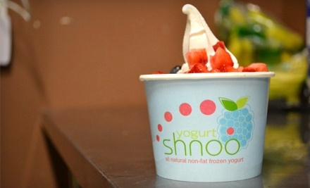 $10 Groupon to Shnoo Yogurt - Shnoo Yogurt in Renton