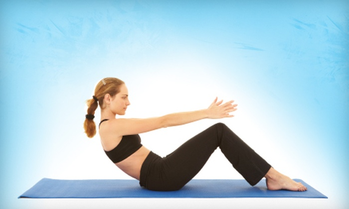 June Hines Pilates - Multiple Locations: $80 for Three Private Pilates Lessons at June Hines Pilates ($195 Value)