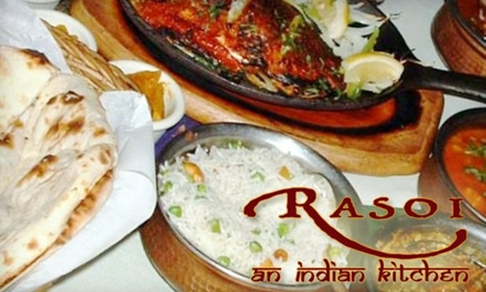 Rasoi: An Indian Kitchen - University Heights: $10 for $20 Worth of Authentic Indian Cuisine and Drinks at Rasoi: An Indian Kitchen