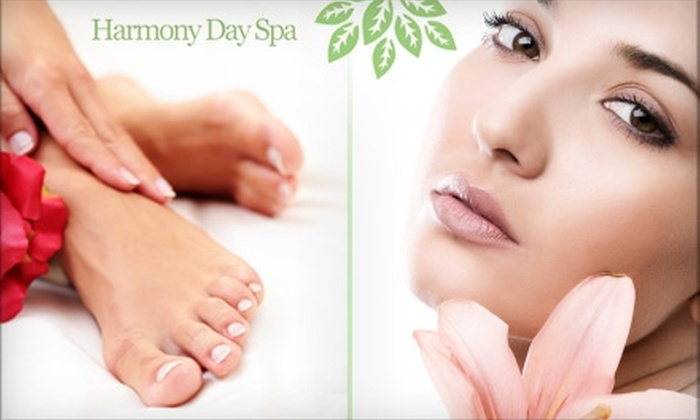Harmony Day Spa - McCandless: Facial or Massage Plus Hands and Feet Treatment at Harmony Day Spa. Choose from Three Options.