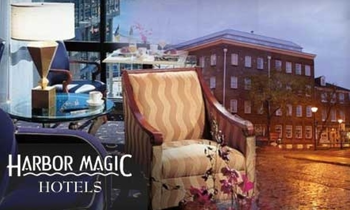 Harbor Magic Hotels - Baltimore: $62 for One Night at Harbor Magic Brookshire Suites or Admiral Fell Inn (Up to $185 value)
