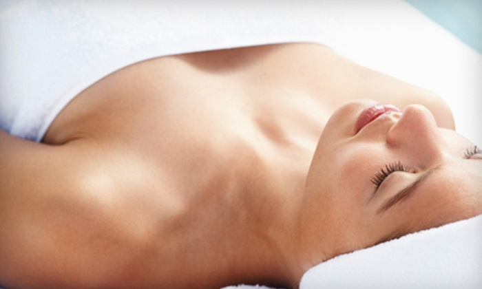Slim and Tone - Powdersville: $29 for a Spa Package with Silver Cloud Massage and Formostar Infrared Body Wrap at Slim and Tone ($65 Value)