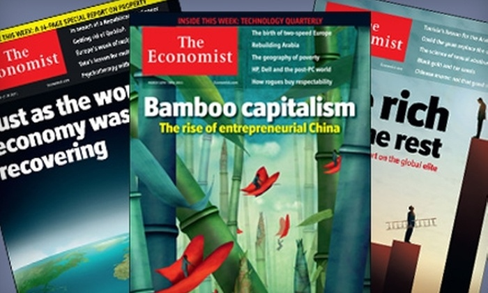 """""""The Economist"""" - Lubbock: $51 for 51 Issues of """"The Economist"""" ($126.99 Value)"""