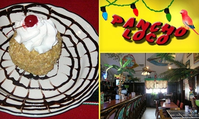 Pancho Loco - Vernon: $10 for $20 Worth of Mexican Cuisine at Pancho Loco