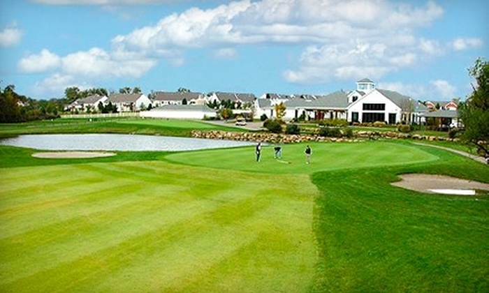 The Links at Dardenne - O'Fallon: $49 for 18 holes of Golf for Two Plus Shared Cart Rental at The Links at Dardenne in O'Fallon (Up to $106.87 Value)