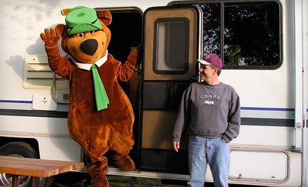 VIP Daily Admission Pass for 2 ($30 value) - Yogi Bear's Jellystone Park in Marion