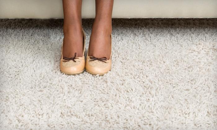 OZ Carpet Cleaning & More - Boca Woods: $45 for Carpet or Tile Cleaning from OZ Carpet Cleaning & More ($90 Value)